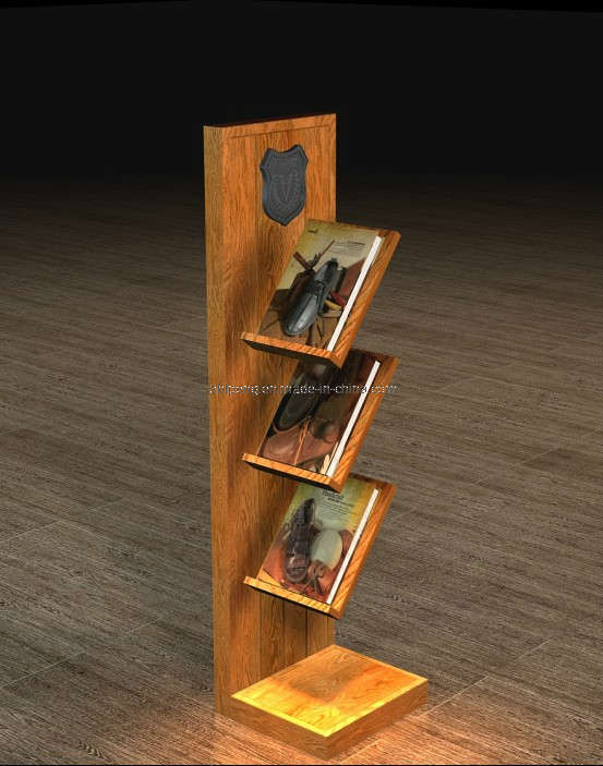 China Wooden Magazine Rack Newspapaer Rack Photos