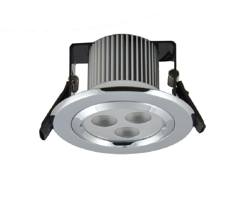 dimmable led recessed downlights au ddl 3x1w china led downlights. Black Bedroom Furniture Sets. Home Design Ideas
