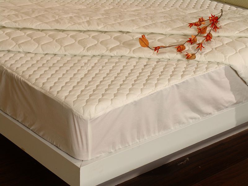 Hotel Bedding, Fitted Mattress Pad (SDF-B034)