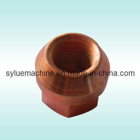 Copper Coated Racing Car Wheel Nut