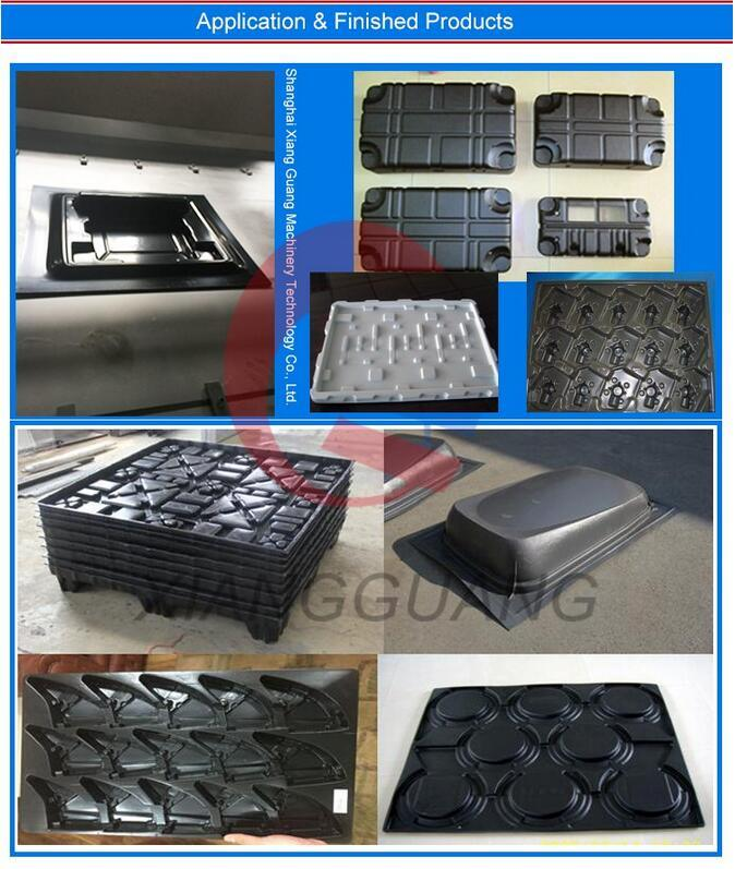 High Capacity ABS HDPE Thick Sheet Plastic Vacuum Blister Machinery