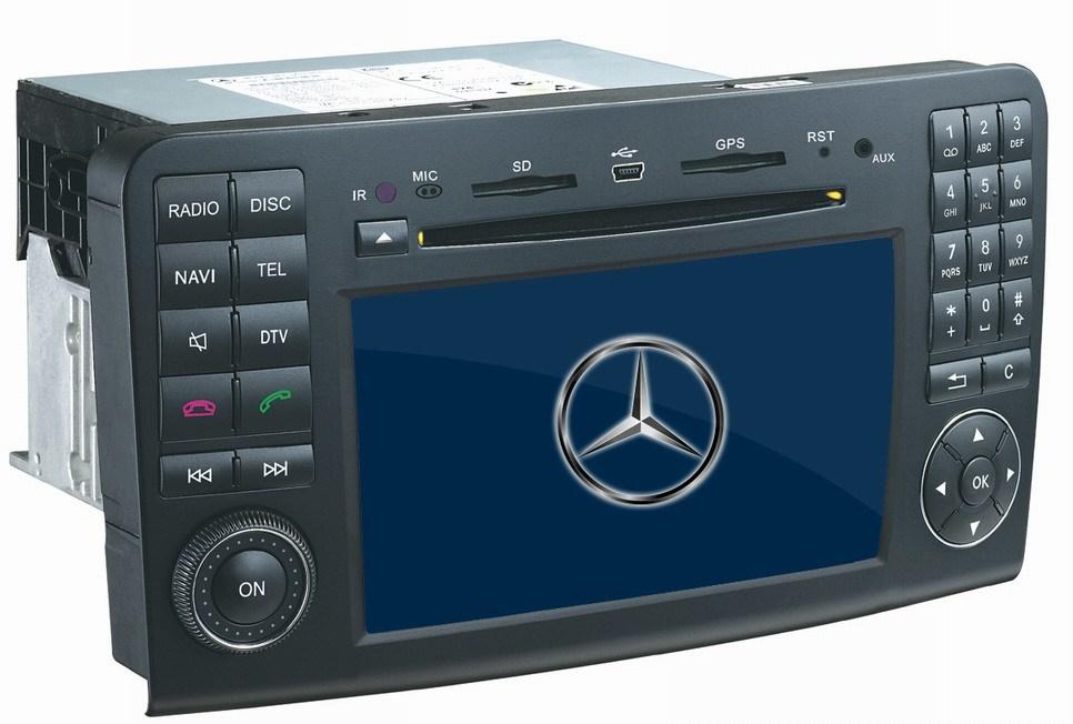 China benz 7 39 39 car dvd gps navigation for mercedes benz gl for Mercedes benz gps system