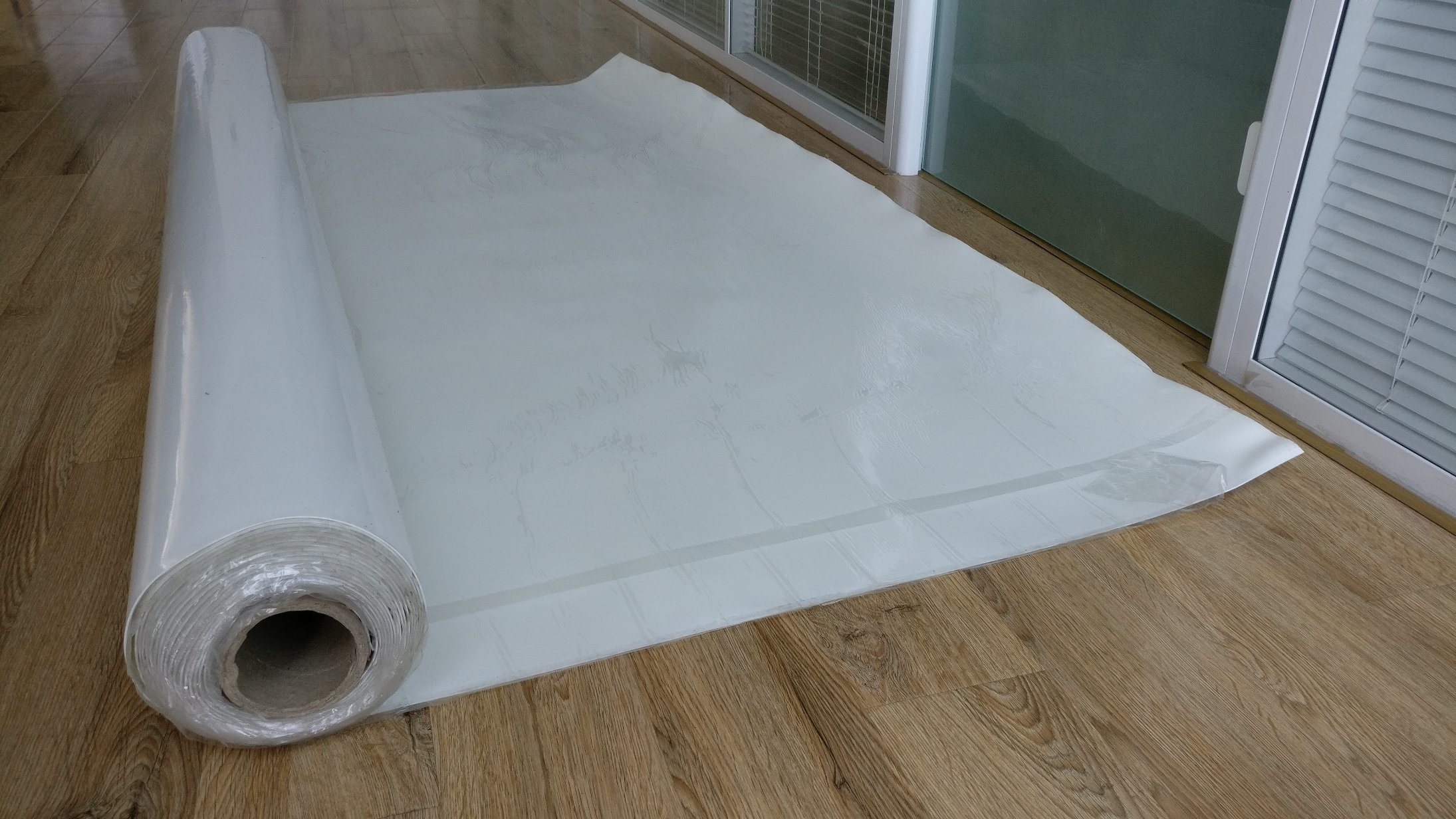 HDPE Pre Applied Self Adhesive Waterproof Membrane 1.2mm--2.0mm