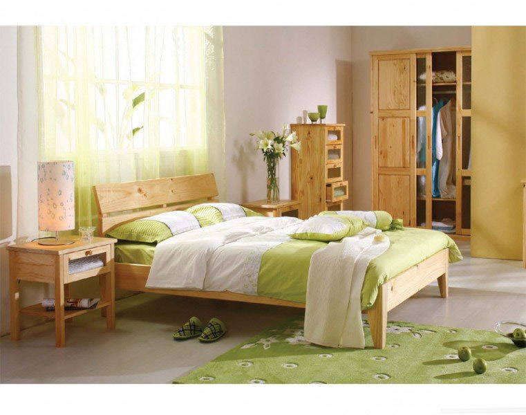 Wood Toddler Bed : Kid Pine Wood Bunk Beds