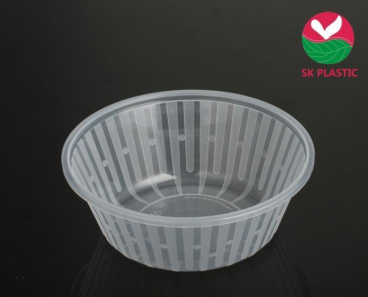 Takeaway Round Plastic Bowl (1.2 L)