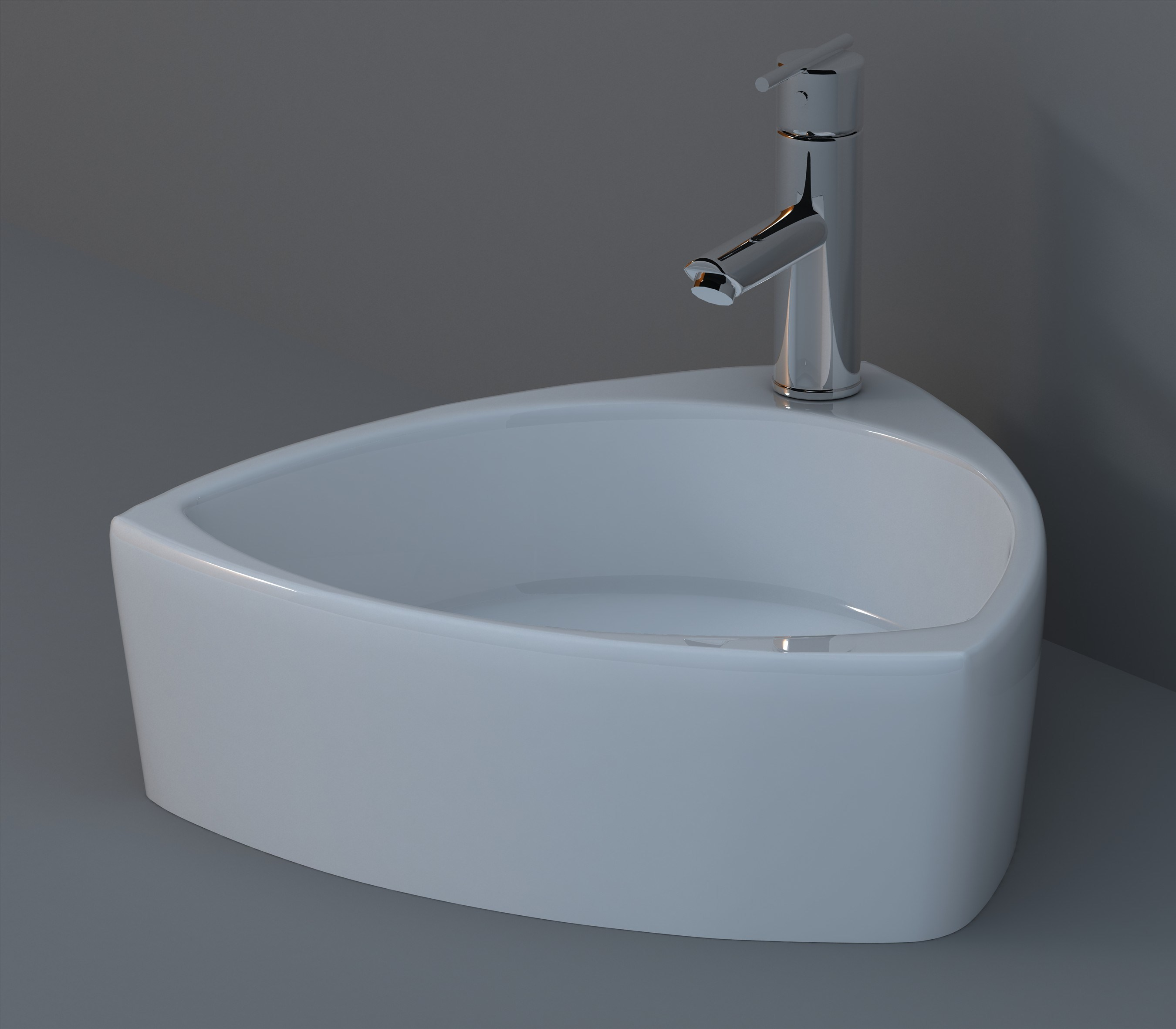 China Ceramic Wash Basin / Countertop Basin (HTM4514) - China Art Basin, Basin
