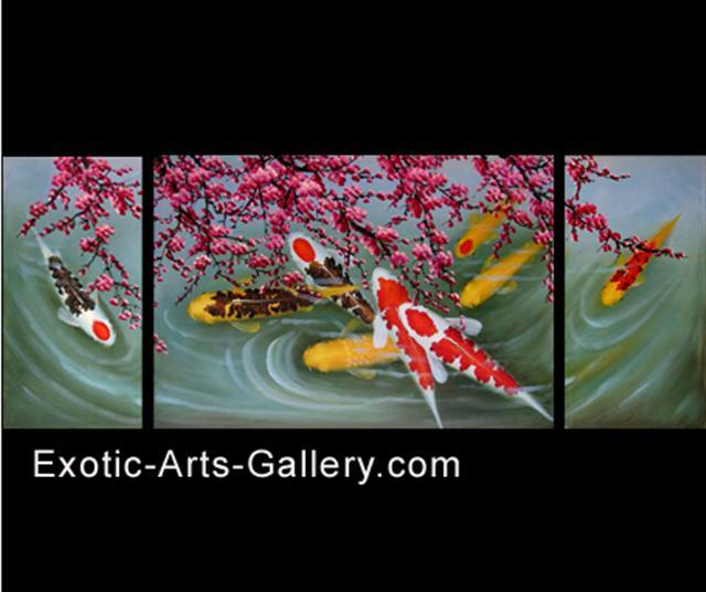 Cool oil paintings oil paintings of jack russells for Koi for sale houston
