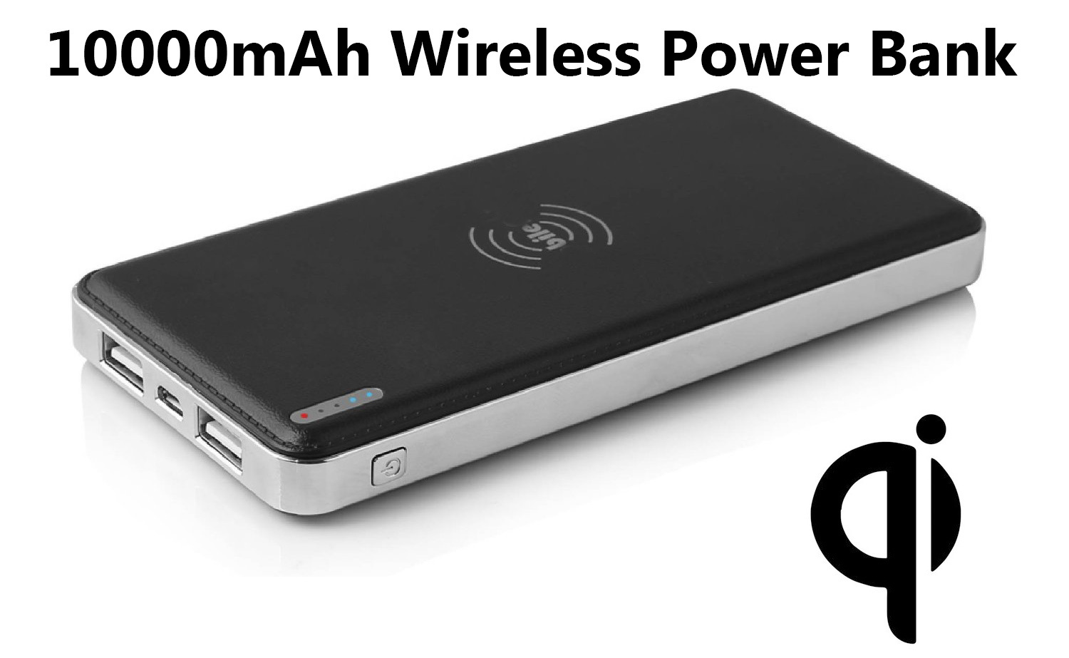2015 Newest Dual USB 10000mAh Power Bank with Two USB Output