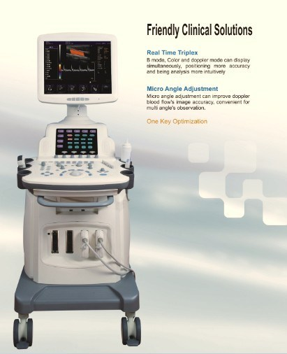 Golden Way Most Advanced 4D Trolley Color Doppler (full digital ultrasound Scanner)