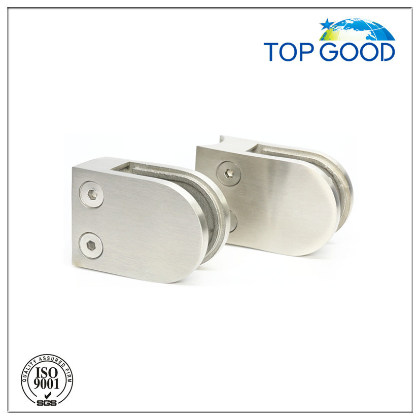 China Top Quality Glass Balustrade Glass Clamp with Satin Finish