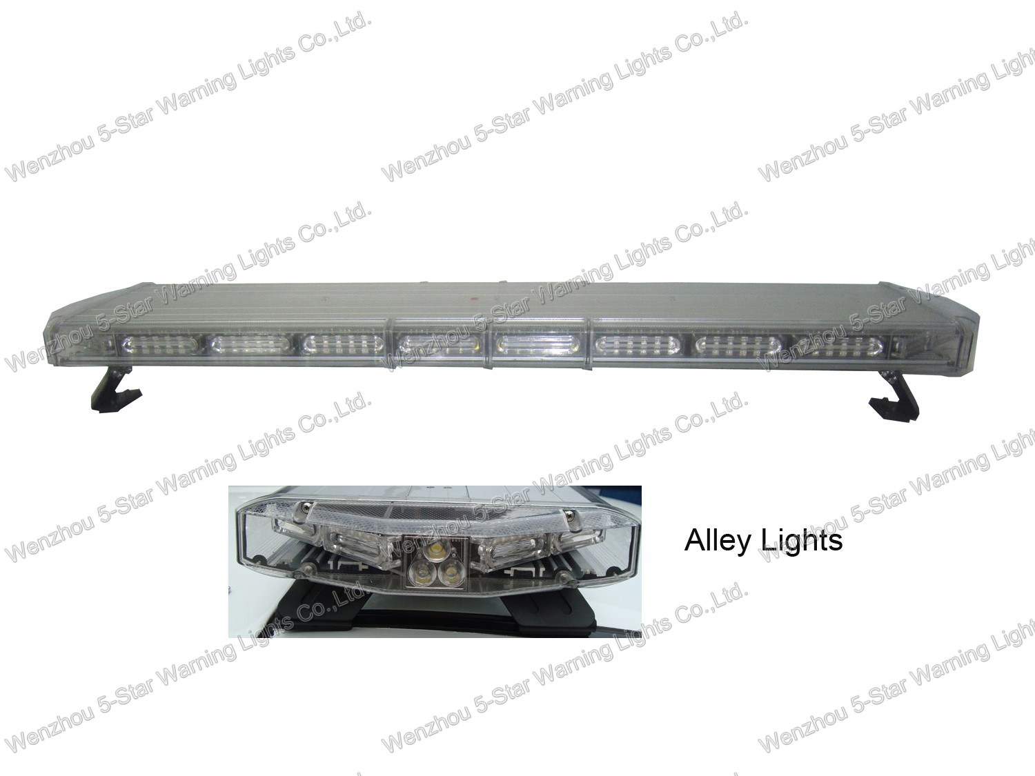 R10 New Design Super Bright LED Warning Lightbar for Firefighing, Police Car
