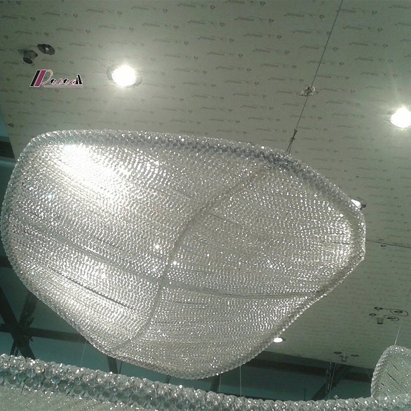 Decorative Sail Design Chandelier Light for Hotel Project