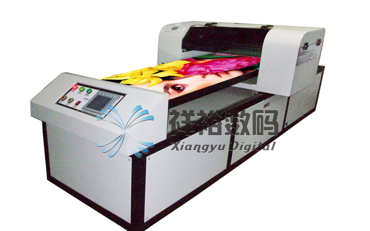 China 2880dpi digital pu and leather printing machine for Commercial shirt printing machine