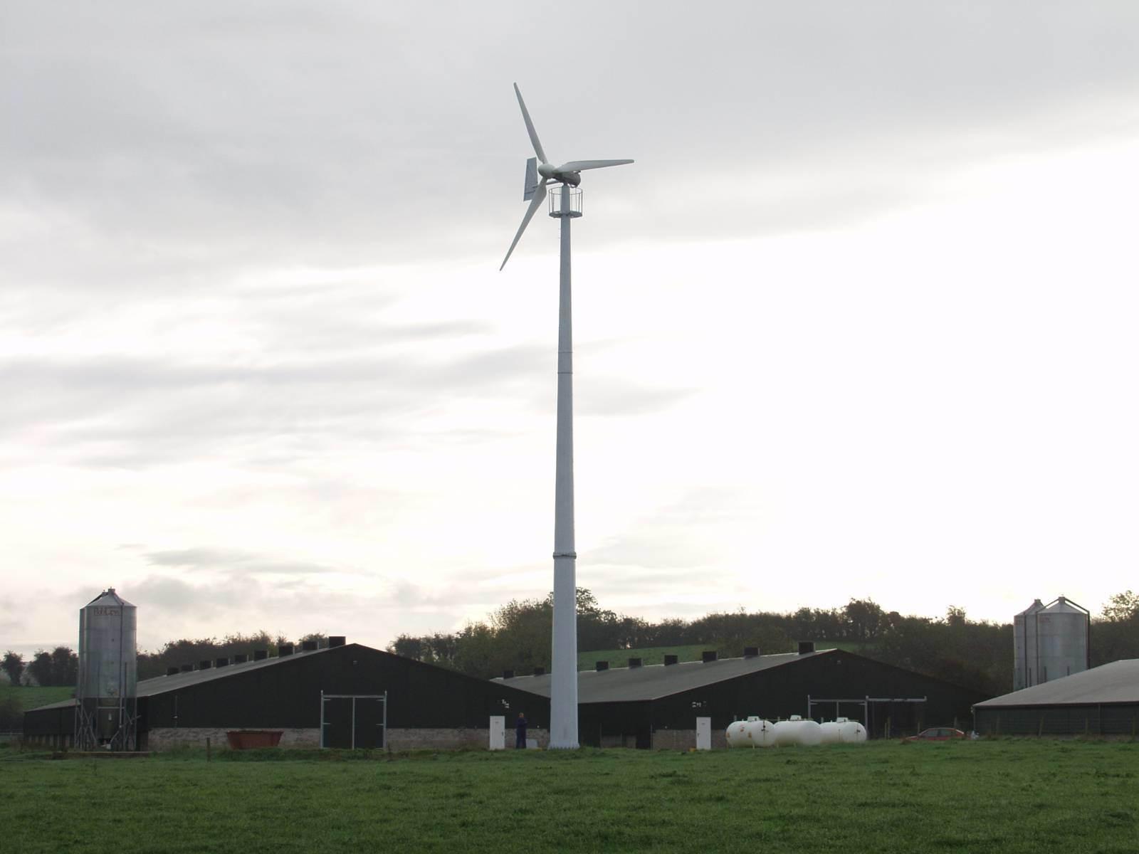 Pin Kw Vertical Axis Wind Turbine Urban Green Energy