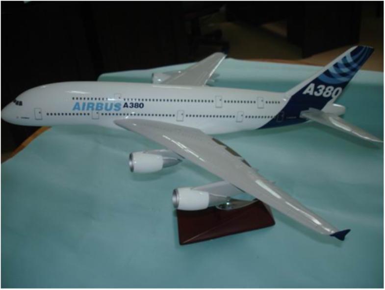 AIRBUS A380 Desktop Resin Model Plane - China Plane