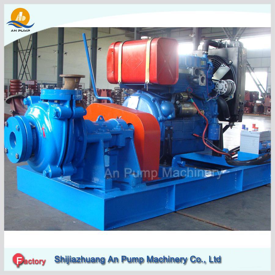 Horizontal Centrifugal Heavy Duty Mining Slurry Pump