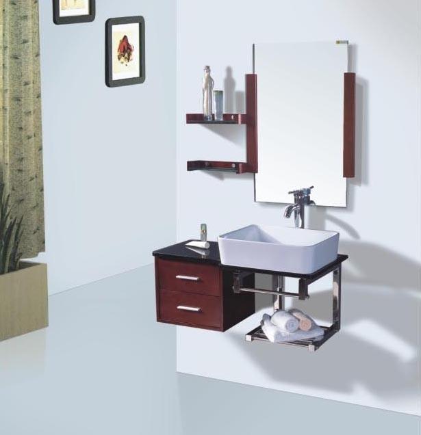 solid wood bathroom vanity sl 1008 china bathroom