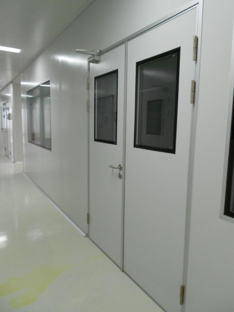 Cleanroom Alu-Sandwich Panel Door (Hand-made panel)
