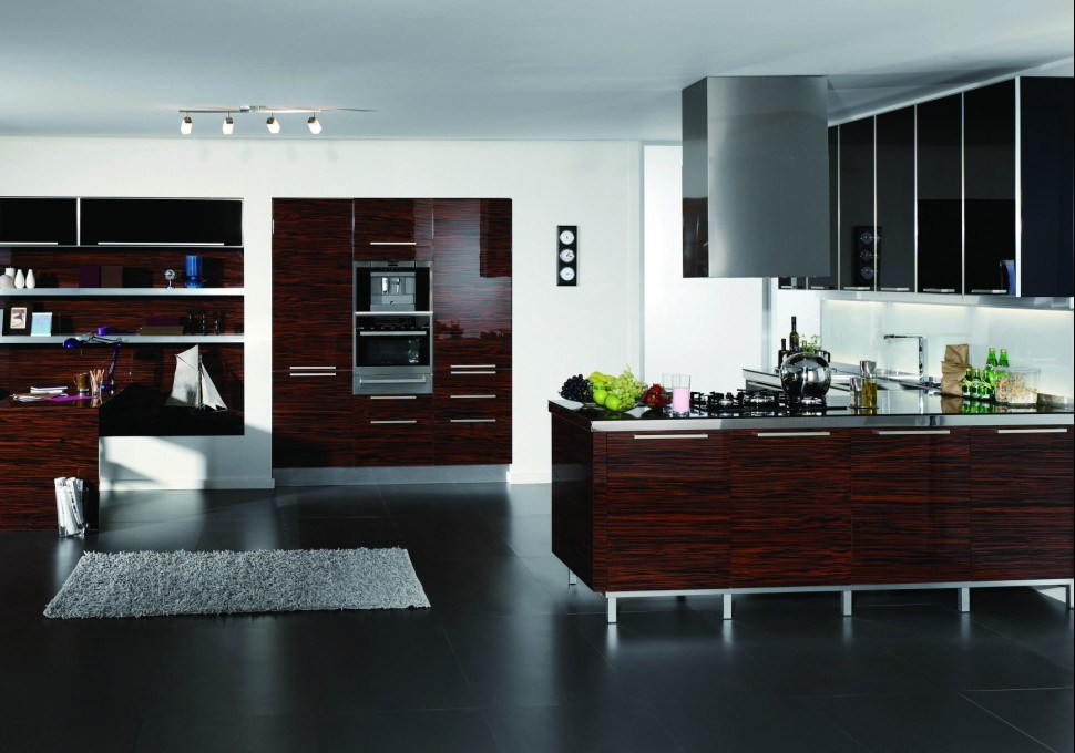 Wood Veneer Kitchen Cabinet Darren China Kitchen Cabinet Kitchen