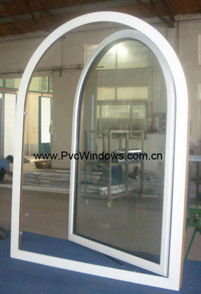 Vinyl Arched Window : Pin this arched window needs to let in more light so its