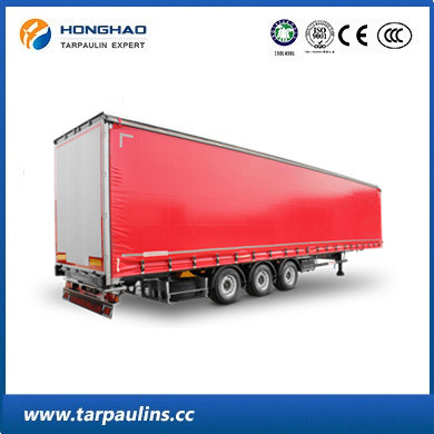 PVC Laminated Tarpaulin/Tarp with UV Treated for Cargo Cover