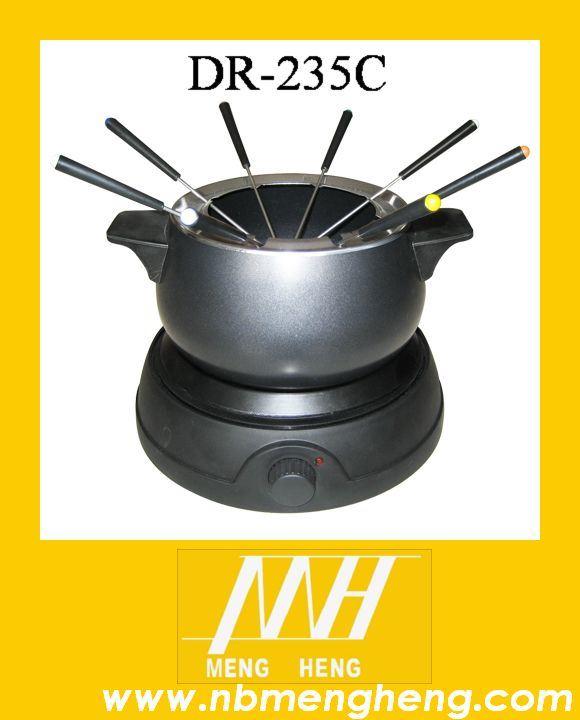 China Electric Fondue Pot Dr 235c China Fondue Set