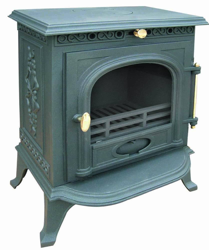 Cast Iron Stove, Fireplace (FIPA014) , Small Stove