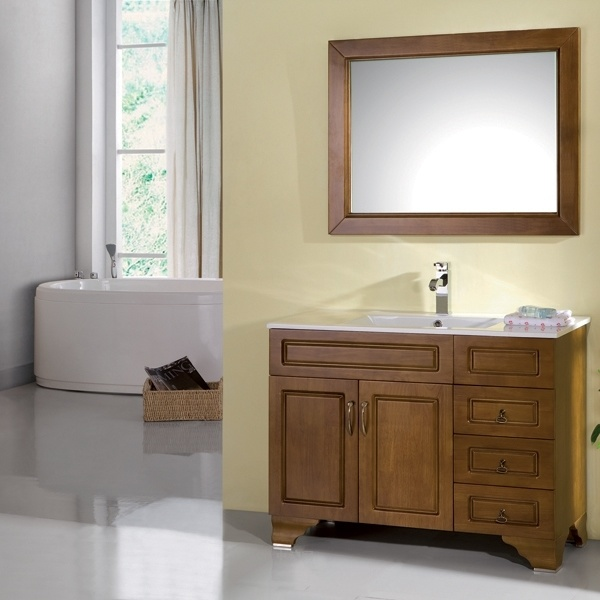 solid wood bathroom cabinets china bathroom cabinet