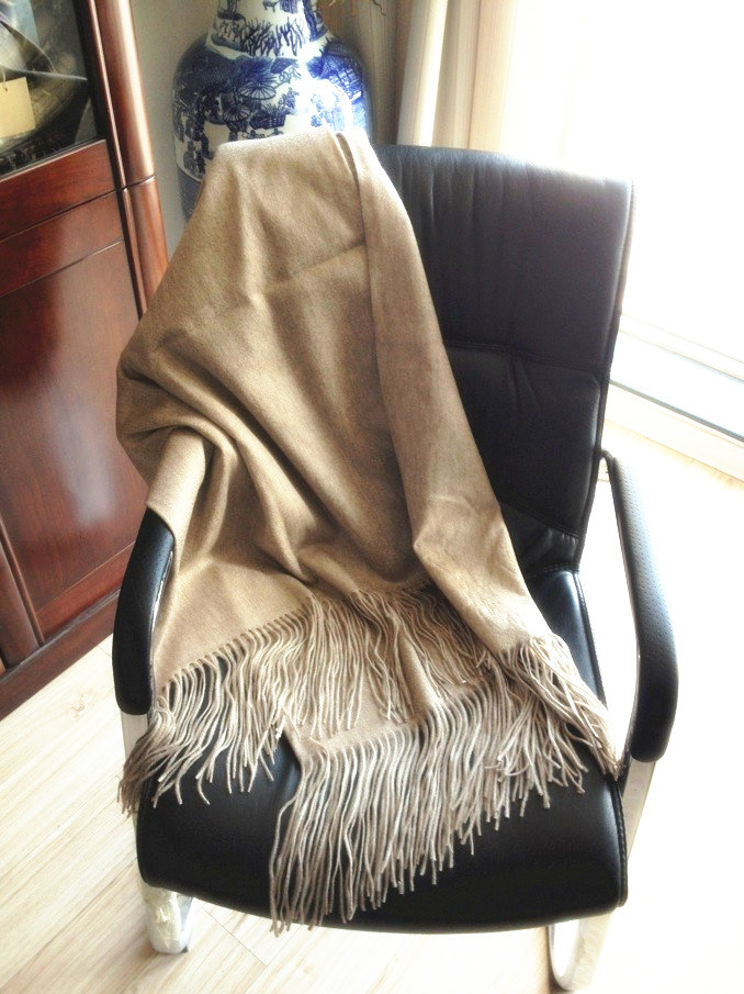 Anti-Pilling Cashmere Plain Warm Blanket