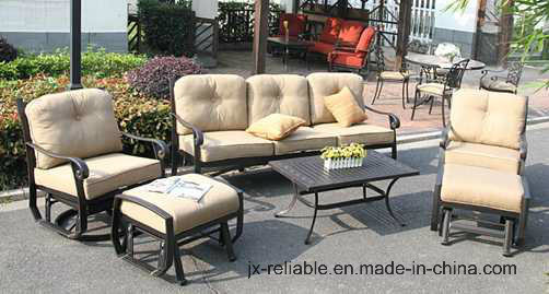 Cozy Swivel&Glider Sofa Group Garden Furniture