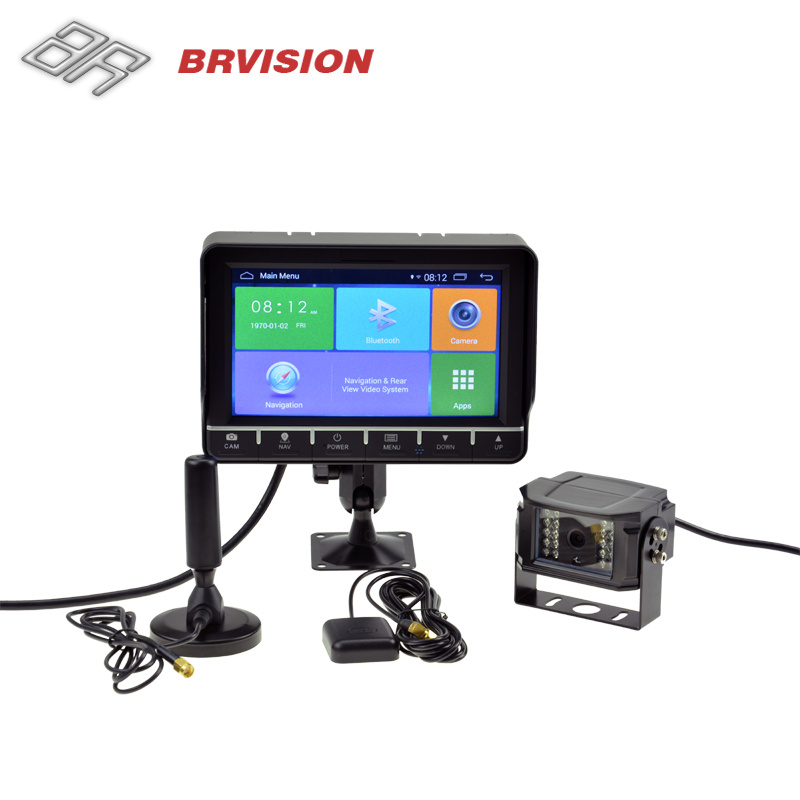 """7"""" Android GPS Navigation System with WiFi, Bluetooth Function"""