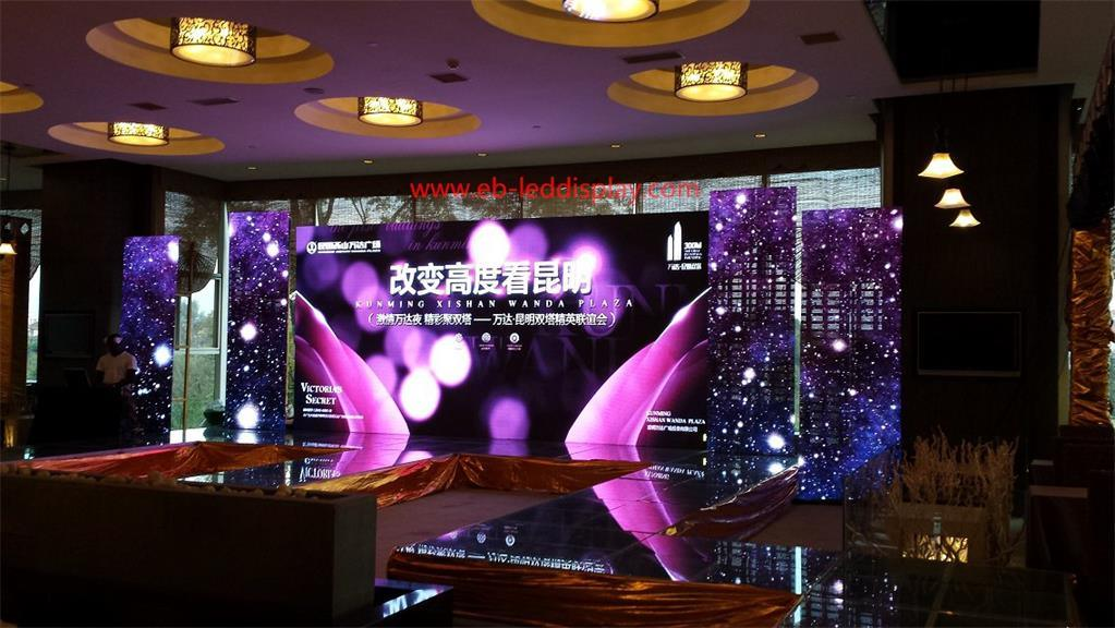 P4.8 HD Outdoor Rental LED Video Display Screen with LED Panel 500X500mm 500X1000mm (SMD2727-Nationstar-LED)