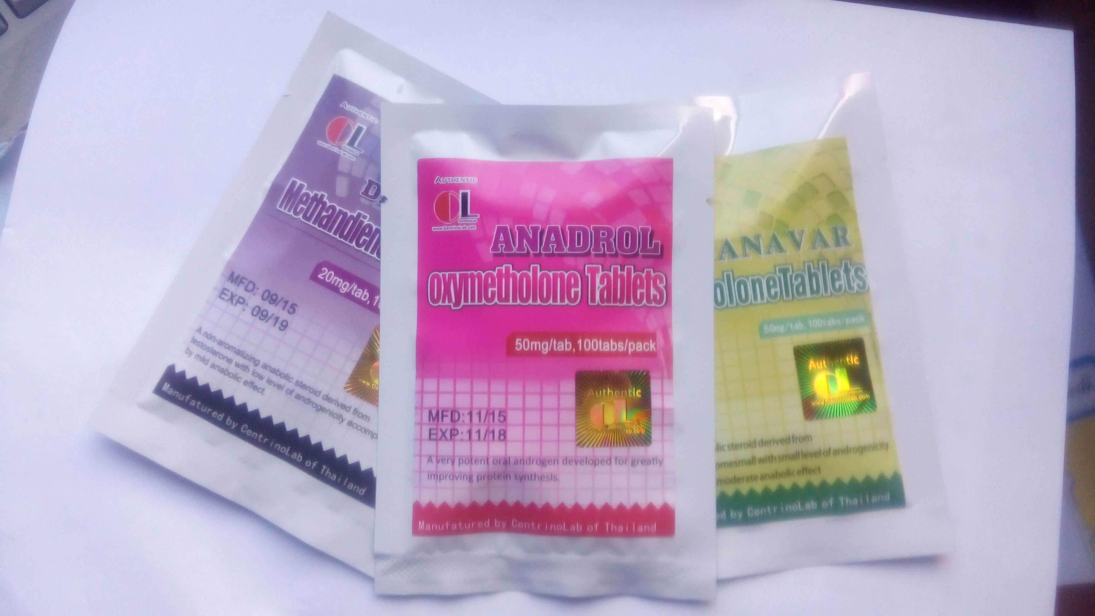 Oral Steroid Hormones Oxymetholon (Anadrol)