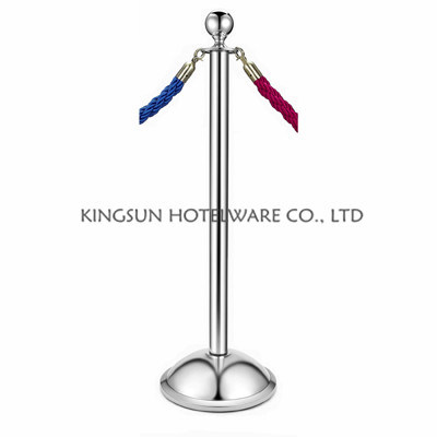 Christmas Decoration Ball Top Crowd Control Stanchions