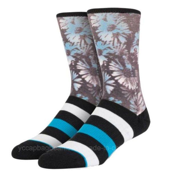 Customized Fashion Cotton Women Mens Socks
