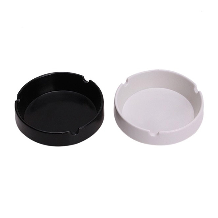 2017 New Soft Colorful Eco-Friendly Round Durable Shatterproof Silicone Ashtray