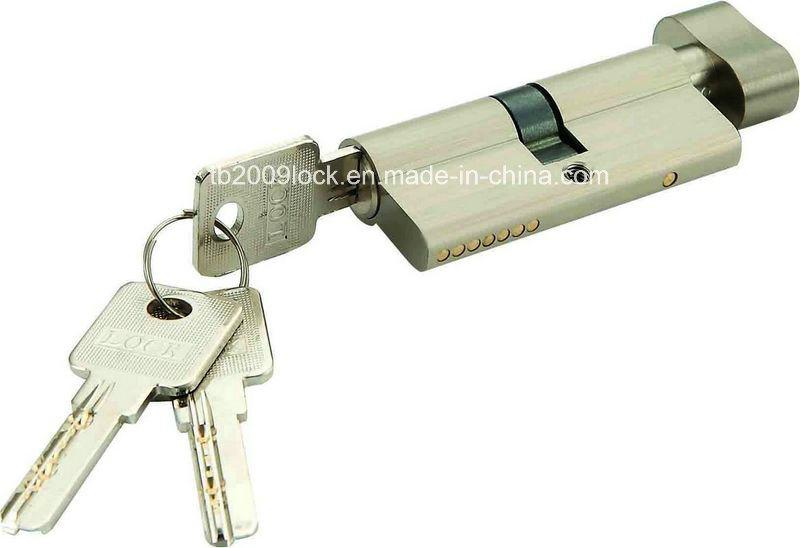 High Quality Brass/Zinc Computer Key Lock Cylinder (C3370-121SN-271SN)