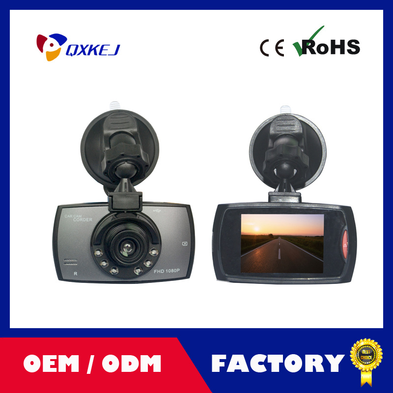 "Car DVR Camera G30 2.7"" HD 720p 120 Degree Registrator Recorder Motion Detection Night Vision G-Sensor Dash Cam"