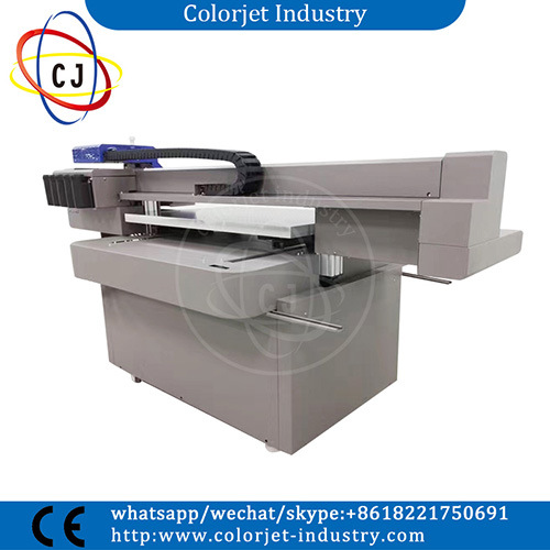 Cj-R9060UV Cheap Price A1 Size White Ink Flatbed UV Printer