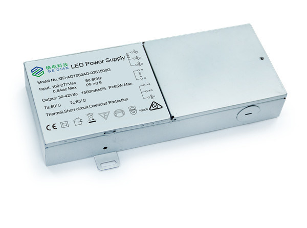 Ce Compliant 30-42V 30W 700mA LED Dimmable Driver 0-10V Dimming