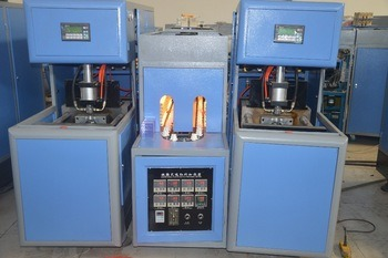 5 Liter Semi Automatic Pet Blow Moulding Machine