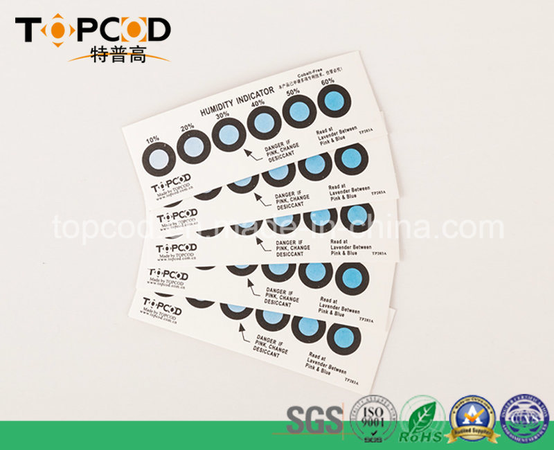 PCB Mositure Test 10%-60% Hic Humidity Indicator Card