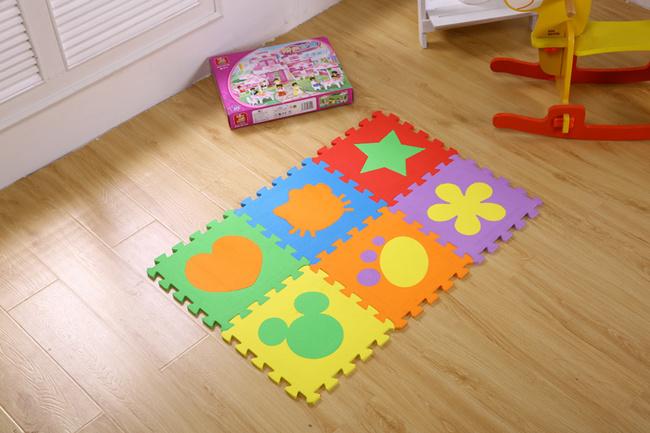 Animal Eco Soft Foam Tile Interlocking EVA Mat Kids Play Puzzle EVA Floor Mats