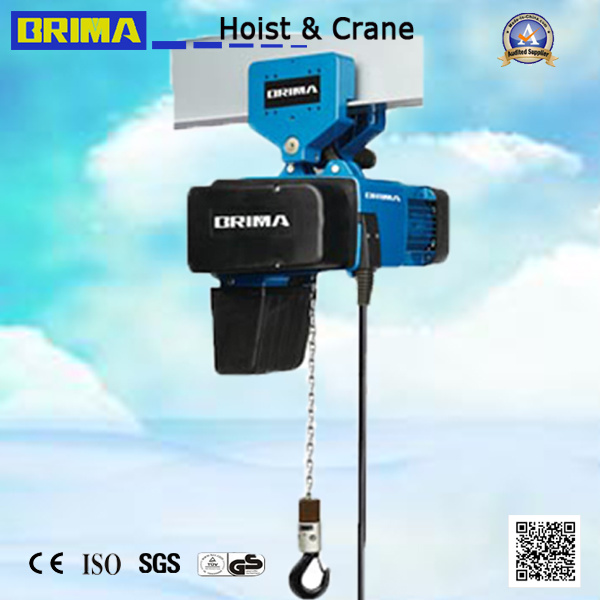250kg European Electric Chain Hoist with Electric Trolley