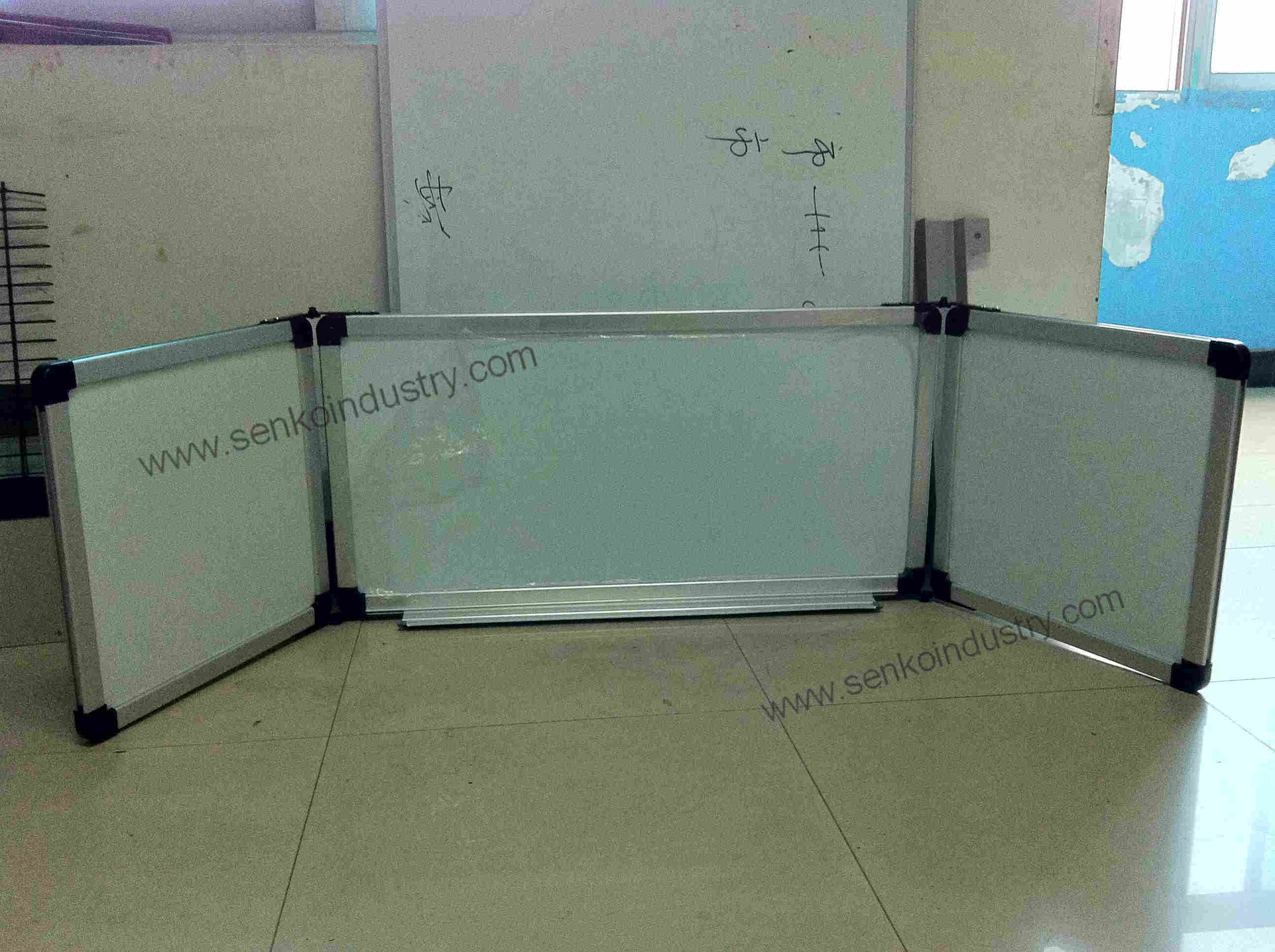 Three-in-One Triple Folded Whiteboards