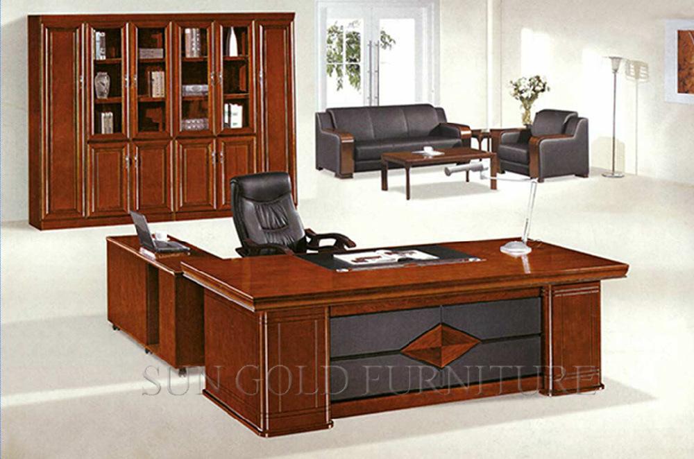 New Design Antique Luxury Wooden Office Desk (SZ-OD530)