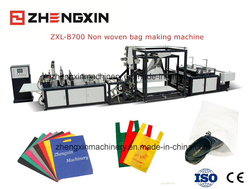 Flat Bag / D-Cut Bag Making Machine with Hot Sale Zxl-B700