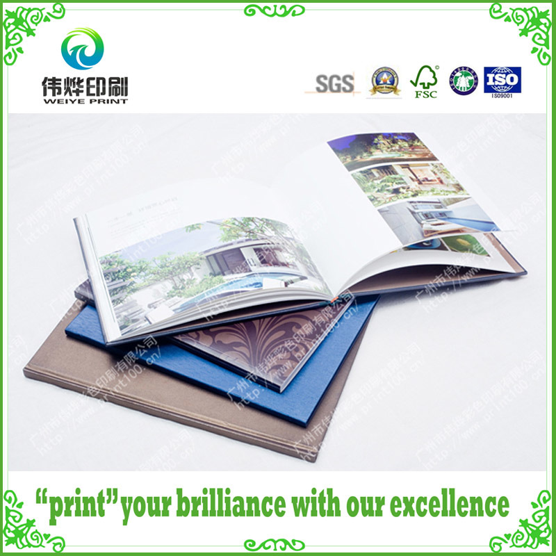 Printing Hard Cover with Embossing Books (Promotion)