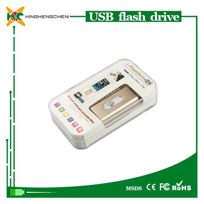 OTG USB Flash Drive for iPhone USB Pen Drive