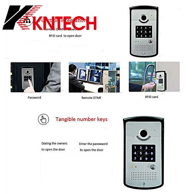 Knzd-42vr IP Video Door Phone Control Access Monitor WiFi